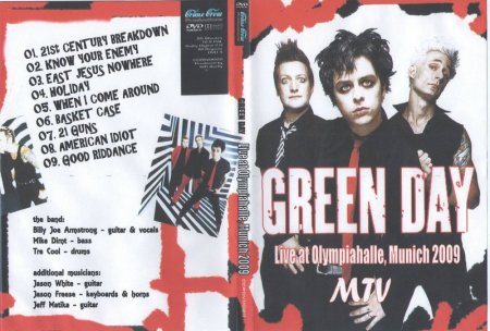 Green Day-Live at Olympiahalle (2009)