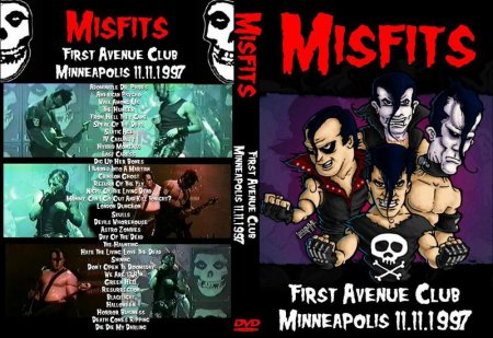 Misfits - First Avenue Club, Minneapolis (1997)