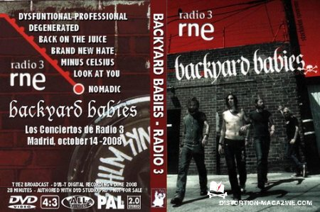 Backyard Babies - TV2 Live (2008)