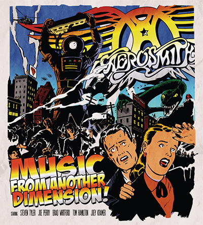 Aerosmith – «Music From Another Dimension!» (2012)