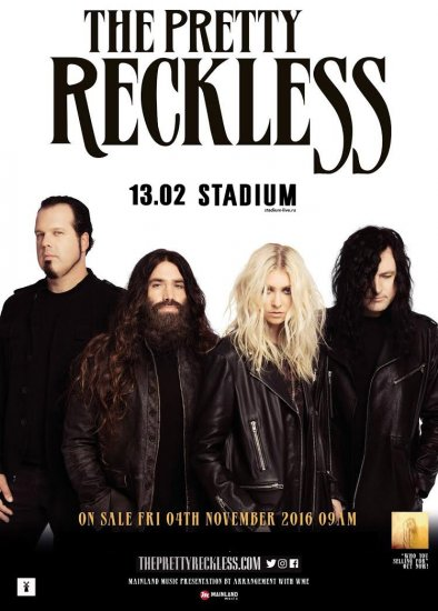 The Pretty Reckless / 13.02.2016 / Stadium Live