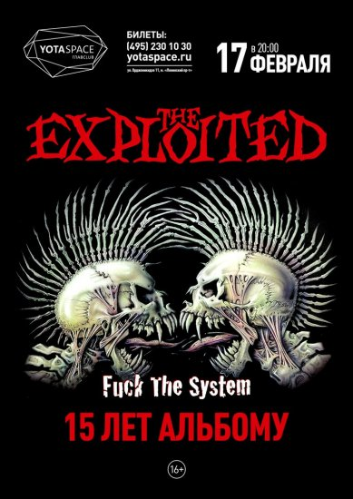 The Exploited / 17.02.2017 / YOTASPACE