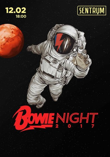 Bowie Night / 12.02.2017 / Sentrum