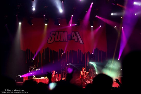 Interview with Sum 41