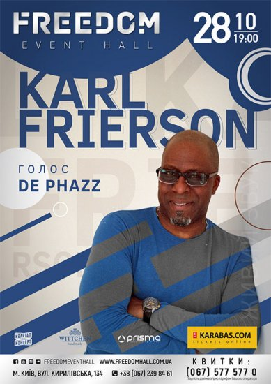 Karl Frierson / 28.10.2017 / Freedom Event Hall