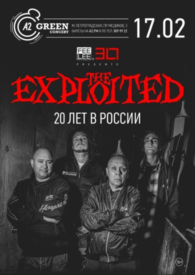 The Exploited / 17.02.2018 / A2