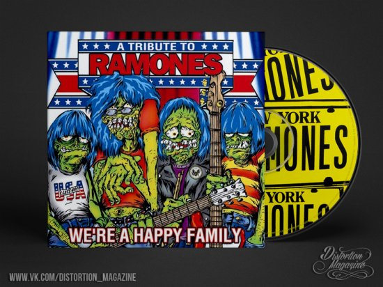 15 лет «We're A Happy Family: A Tribute To The Ramones»