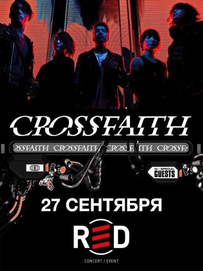Crossfaith / 27.09.2018 / RED