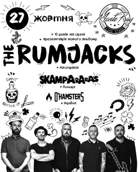 The Rumjacks / Skampararas / O'Hamsters / 27.10.2018 / MonteRay