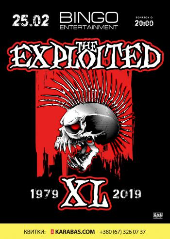 THE EXPLOITED / 25.02.2019 / Bingo