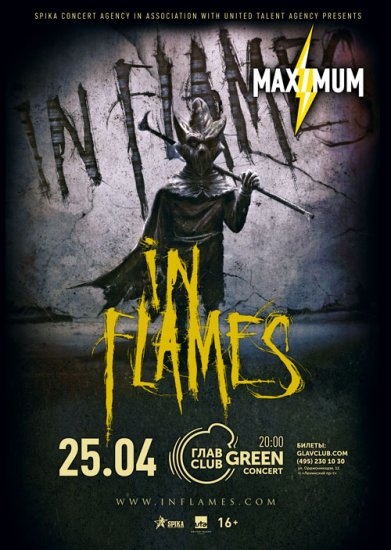 In Flames / 25.04.2019 / ГлавClub GreenConcert