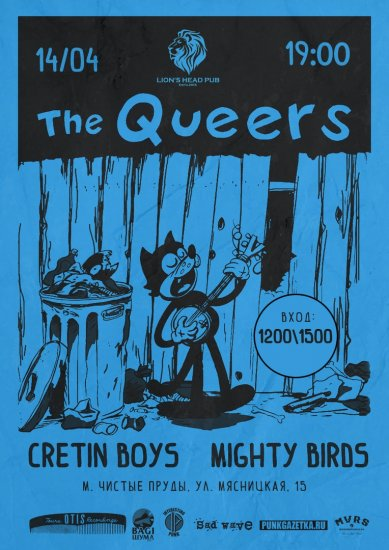 THE QUEERS / 14.04.2019 / Lion's Head Pub