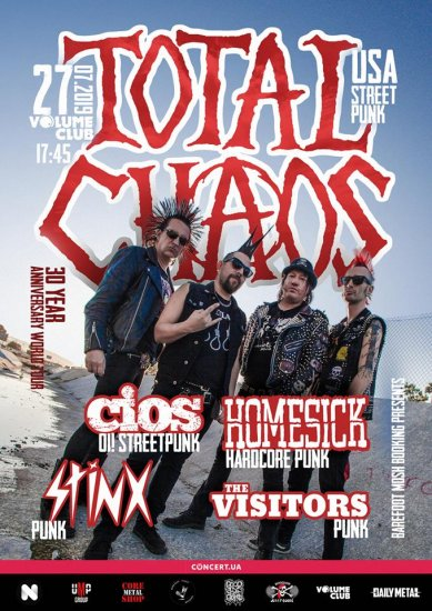 TOTAL CHAOS / 27.07.2019 / Volume Club