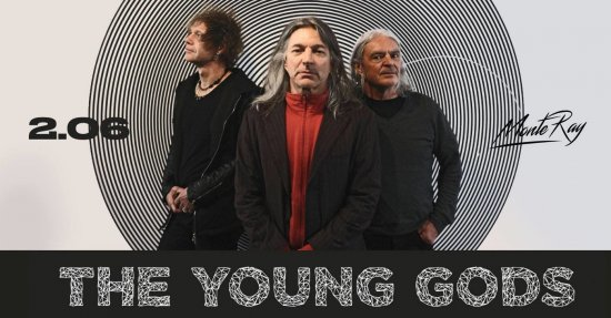 THE YOUNG GODS / 02.06.2019 / MonteRay