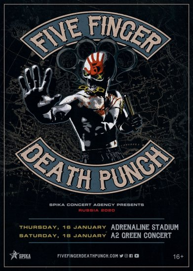 FIVE FINGER DEATH PUNCH / 16.01.2020 / Adrenaline Stadium