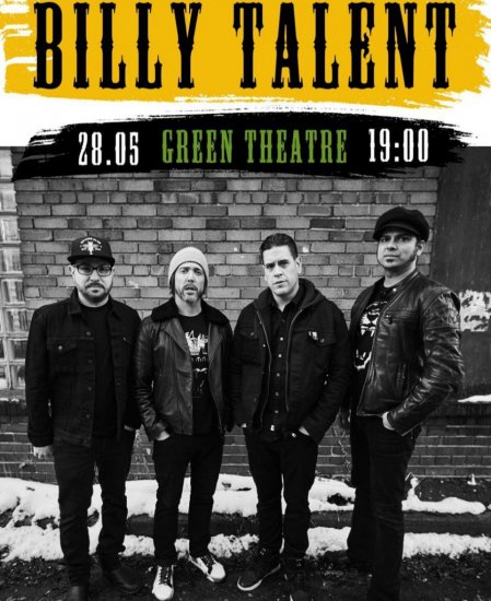 BILLY TALENT / 28.05.2020 / Зеленый Театр