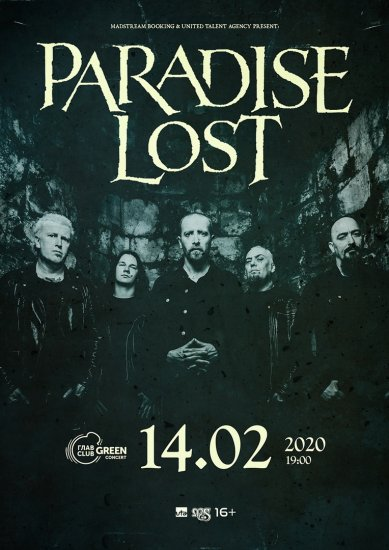 Paradise Lost / 14.02.2020 / Главclub Green Concert