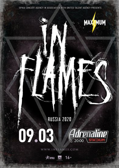 In Flames / 09.03.2020 / Adrenaline Stadium