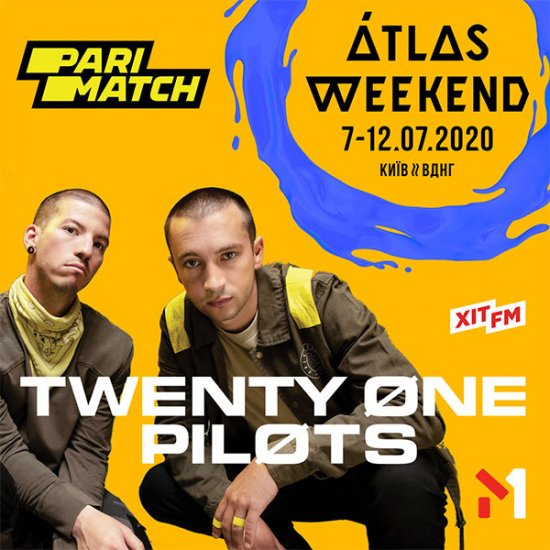 TWENTY ONE PILOTS – ДРУГИЙ ХЕДЛАЙНЕР ATLAS WEEKEND 2020!